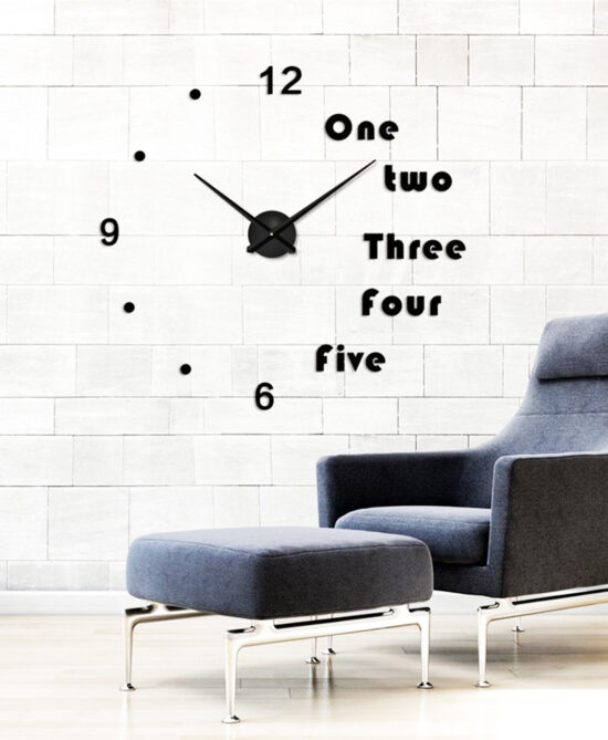 Shoop Acrylic Wall Clock IV