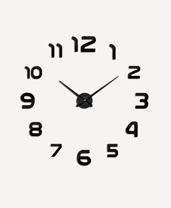 Shoop Acrylic Wall Clock IX
