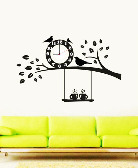 Shoop Acrylic Wall Clock V