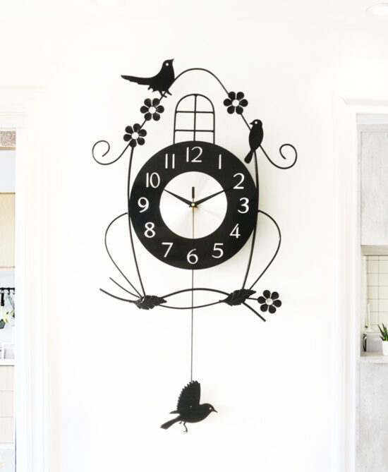 Shoop Acrylic Wall Clock VIII