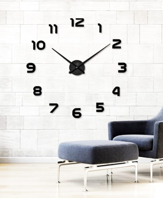 Shoop Acrylic Wall Clock X
