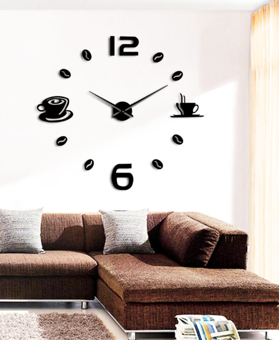 Shoop Acrylic Wall Clock XII