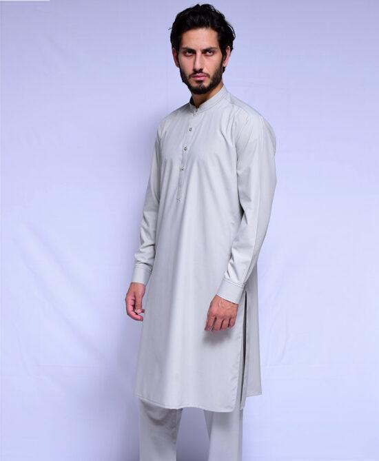 Shoop Grey Kameez Shalwar