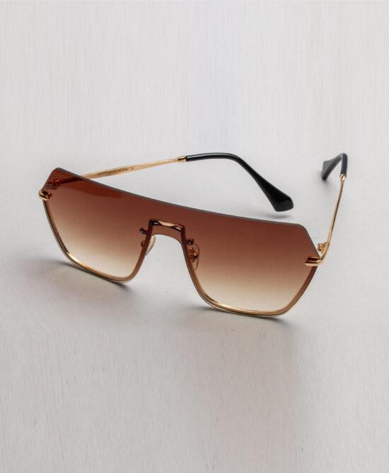 Shoop Fendi Light Brown Tinted Sunglasses