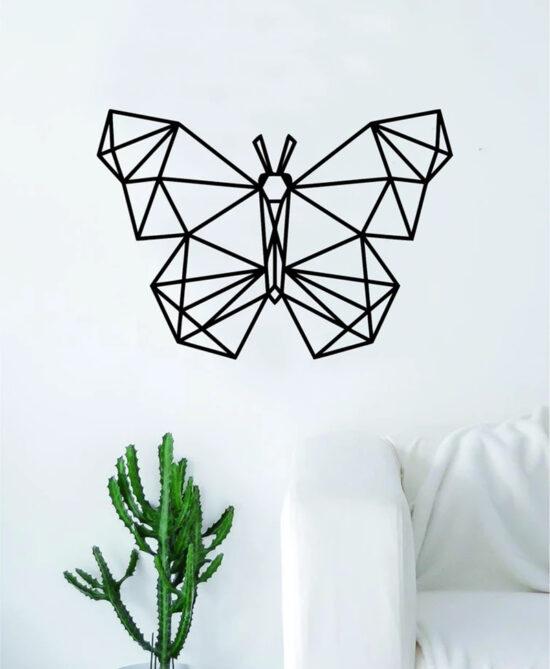 Acrylic Butterfly Wall Art